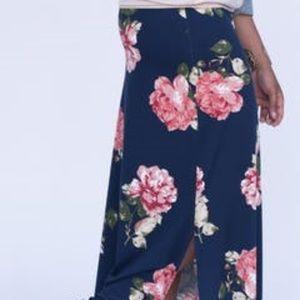 Side Slit Maxi Skirt Just Marvelous